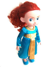 "OFFICIAL DISNEY  STORE BRAVE Movie  MERIDA TODDLER 16"" DOLL figure"