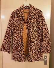 Bathing Ape Vintage Leopard Skin patterned Jacket - XL