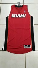 NWT ADIDAS Miami Heat  (RED) Authentic Blank NBA Jersey  Men's Large Tall