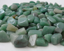 AVENTURINE GREEN 9 MEDIUM Tumbled Stones MD Crystal Healing Gem Wicca Gemstone