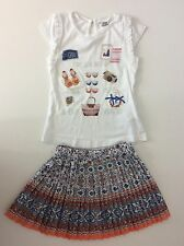 MAYORAL 2 Piece Girls Outfit Set Skirt & Top Age 4 Years / 104cm