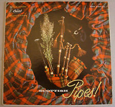 Scottish Pipes Capitol of the World series T10081 Vinyl LP