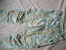 "AUSTRALIAN AUSCAM JUNGLE DPU COMBAT CARGO TROUSERS SASR 30"" M ISSUE JELLY BEAN"