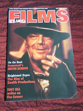 FILMS AND FILMING - UK MOVIE MAGAZINE - MAY 1988 - BOB PECK - SAMMI DAVIS