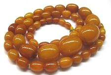 17 g OLIVE Nature real  Amber Butterscotch Necklace 老琥珀 Olive Bernsteinkette