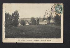 THIVERVAL / GRIGNON (78) VILLAS & ECOLE D'AGRICULTURE en 1904