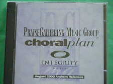 Praise Gathering Music Group Choral Plan~~Anthem~~August 2003~~Audio CD~~NEW