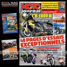 MOTO JOURNAL N°1805 YAMAHA XT 600 XTZ 660 TENERE YZF R1 24 HEURES DU MANS 2008