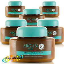 6x AO Hydrating Hair Mask with Moroccan Argan Oil Extract 220ml Conditioning