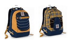 Zaino scuola Invicta trick 360 pack reversibile  Blue Plaid 1518 FD2