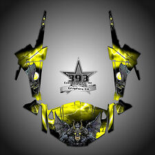 Polaris RZR 1000 XP UTV Wrap Graphics Decal Kit 2013-2015 Guardian Yellow