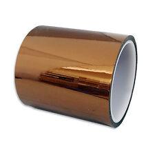 High Temperature Heat Resistant Kapton Tape 100mm X 100ft Reprap 3D Printers BGA