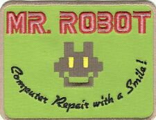 MR ROBOT FSOCIETY TV SHOW EMBROIDERED IRON ON PATCH