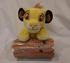 Disney Baby by Cloud B The Lion King Simba Dreamy Stars Soother Night Light EUC