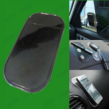 Black Car Dashboard Anti-Slip Sticky Pad, Non-slip Mat for Mobile Phone, Sat Nav