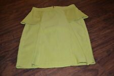 E6- Gibson Latimer Green Skirt Size 6