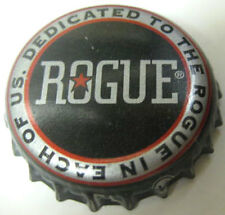 ROGUE ALE Dedicated To the Rogue in US Beer CROWN used Bottle CAP Newport OREGON