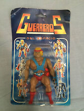 GUERREROS DEL ESPACIO HEMAN FARMEN  GALAXY WARRIORS FIGHTER MOTU Vintage 80