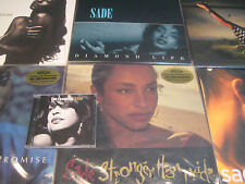 SADE DIAMOND LIFE LOVE DELUXE THEN PRIDE ROCK SOLDIER PROMISE 180G 6 LP'S + CD