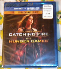 The Hunger Games Catching Fire/The Hunger Games  (Blu-ray  2-Disc Set/Digital)