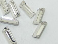 36pcs 4X2mm CRYSTAL BAGUETTE UNFOILED POINTED BACK swarovski  rhinestones
