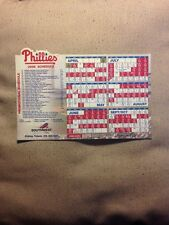 Philadelphia Phillies 2005 Magnet Schedule MLB SGA