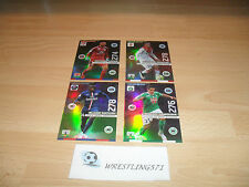 PANINI ADRENALYN XL LIGUE 1 2015/2016: 4 CARTES NEUVES LIMITED EDITION