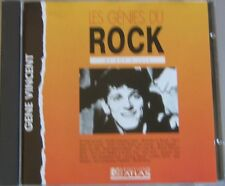 GENE VINCENT (CD) BE BOP A LULA  GENIES DU ROCK EDITIONS ATLAS