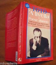Totò 'A livella e poesie d'amore GRANDI TASCABILI ECONOMICI NEWTON 1995 n 316