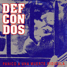 CD SINGLE promo DEF CON DOS panico a una muerte ridicula SPAIN 1995 RAP NU METAL