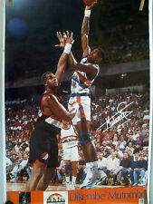 RARE DIKEMBE MUTOMBO NUGGETS 1992 VINTAGE ORIG SPORTS ILLUSTRATED SI NBA POSTER