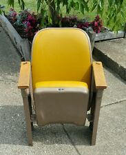 Peabody Seating Co. original Theatre Chairs Retro Vintage Era, circa 1960