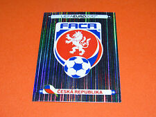 137 BADGE CESKA REPUBLIKA REPUBLIQUE TCHEQUE  FOOTBALL PANINI UEFA EURO 2012