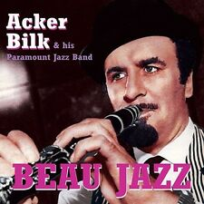 CD ACKER BILK & HIS PARAMOUNT JAZZ BAND BEAU JAZZ CREOLE LOVE CALL THIS TOWN ETC