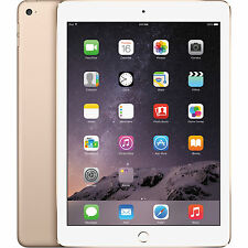 New Apple iPad Air 2 64GB Wi-Fi 9.7in Tablet Gold MH182LL/A Retina Display