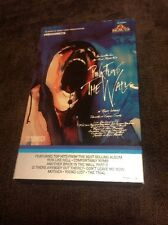 Vintage Pink Floyd The Wall VHS Video Tape Music Original Release 1983 Big Box