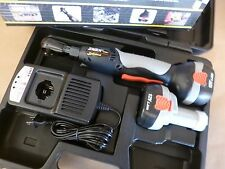 "3/8"" DRIVE 12V CORDLESS RATCHET KIT W/ 2 BATTERIES - CHARGER & CASE 45 Ft-Lbs"