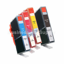4** PACK 564 564XL New Ink Cartridge for PhotoSmart 7510 7520 7525 C6350 B8550