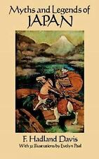 Myths and Legends of Japan-ExLibrary
