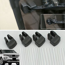 4x For Ford Explorer 2016 Car Black Rust-proof Limiting Stopper Protector Covers
