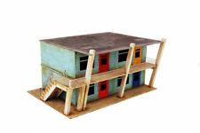 Retro Americana Motel Rooms – Left 28mm Laser Cut MDF Building P005