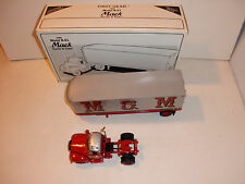"First Gear 1960 Model B-61 Mack Tractor & Trailer ""M@M Transportation"""
