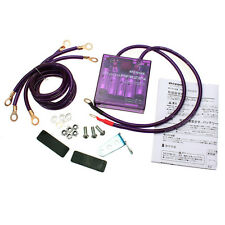PURPLE UNIVERSIAL FUEL SAVER VOLTAGE STABILIZER REGULATOR PIVOT MEGA RAIZIN
