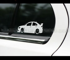 Lancer RALLIART SPORT EVO RALLY evolution JDM Car vinyl Decal Sticker