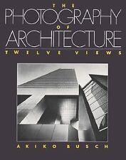 Photography of Architecture Akiko Busch '93 Large paperback with photos NEW nos