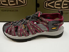 KEEN WOMENS SANDALS WHISPER MAGNET SANGRIA SIZE 8