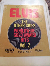 8 Track tape ELVIS The Other Sides