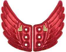 SHWINGS RED FOIL wing wings for your shoes official designer Shwings NEW 10403