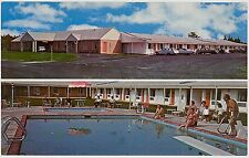 c1960s Kings Court Motel on US 9 Marmora New Jersey postcard view