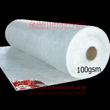 100g CHOPPED STRAND MAT FIBREGLASS MATTING 1m x 1m USE GRP MOULDS,RESIN, EPOXY